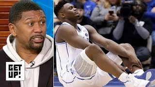 Zion's injury isn't bad enough to shut it down for Duke – Jalen Rose | Get Up!