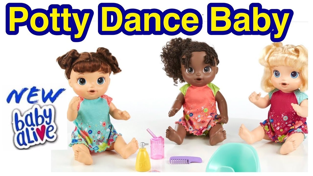 Brand New Baby Alive Potty Dance Baby Coming Soon Youtube