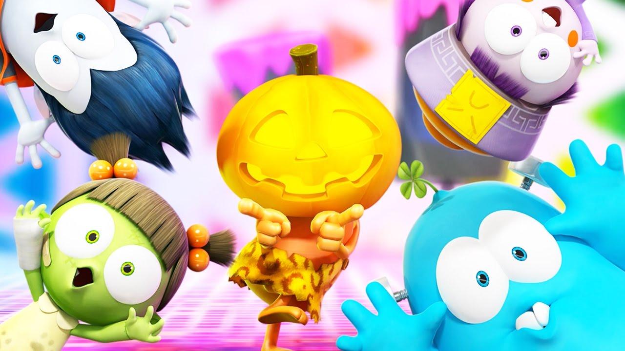 halloween spookiz happy halloween trick or treat cartoons for children youtube - Happy Halloween Cartoon Pics