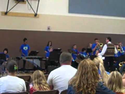 Vaca pena middle school jazz band- my dinner with ronald