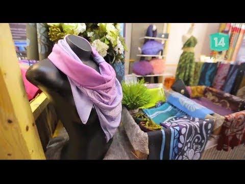 ธุรกิจผ้าไหมลายบาติก แบรนด์ฅญา - วันที่ 12 Feb 2018