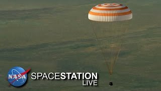 Space Station Live: The Real Story of Returning to Earth