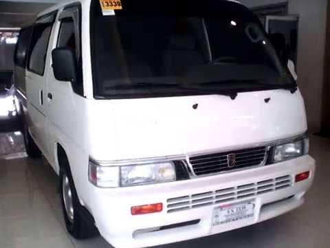 Nissan Urvan 18 Seaters Diesel Engine Review Youtube