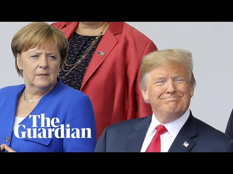 'Germany is totally controlled by Russia': Trump at Nato summit