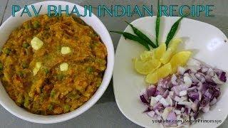 Pav Bhaji Chaat Masala Recipe | How To Make Bhaaji | Indian Vegetarian Street Food At Home