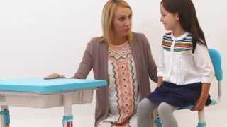 Multifunctional Ergonomic Children Study Desk (chinese)