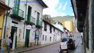 """BARRIO LA CANDELARIA Bogota. D.C """"Un Paraiso con Arquitectura Colonial"""""""