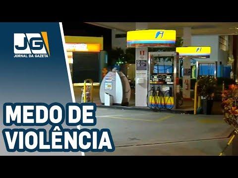 Postos de São Paulo  recusam combustível por medo de violência