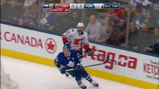 Gotta See It: Komarov rocks Gaudreau with devastating hit