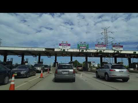 Driving from Goethals Bridge in Staten Island,New York to New Brunswick,New Jersey