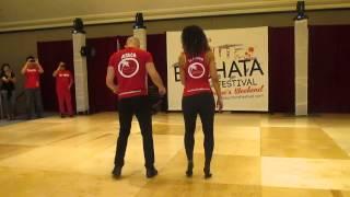 Ataca y La Alemana - Bachata Partnering : LA Bachata Festival