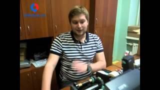 видео самоклеющиеся этикетки: термотрансферные