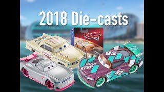 2018 Disney Cars - Most NEW Releases Ever - Mattel (Next Gen Racers, Piston Cup Launchers) Die-casts