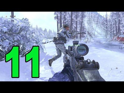 Modern Warfare 2 - Part 11 - Contingency (Let's Play / Walkthrough / Playthrough)