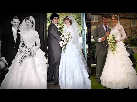 99. Невеста сделала коллаж из свадебных фото себя, мамы и бабушки