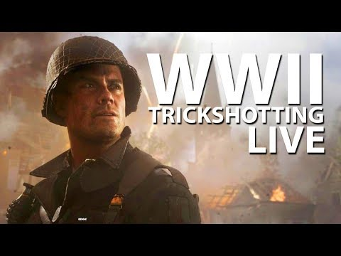 WWII Parachute Trickshotting LIVE! - Donate Here: