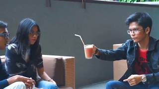 Magician Appears A Glass Of Orange Juice And Turn It Into Strawberry. abracadaBRO Best Magic Tricks