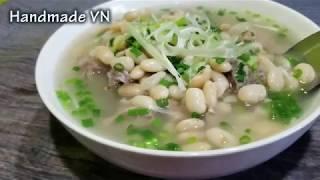 Cách nấu canh xương đậu trắng ngon nước trong veo