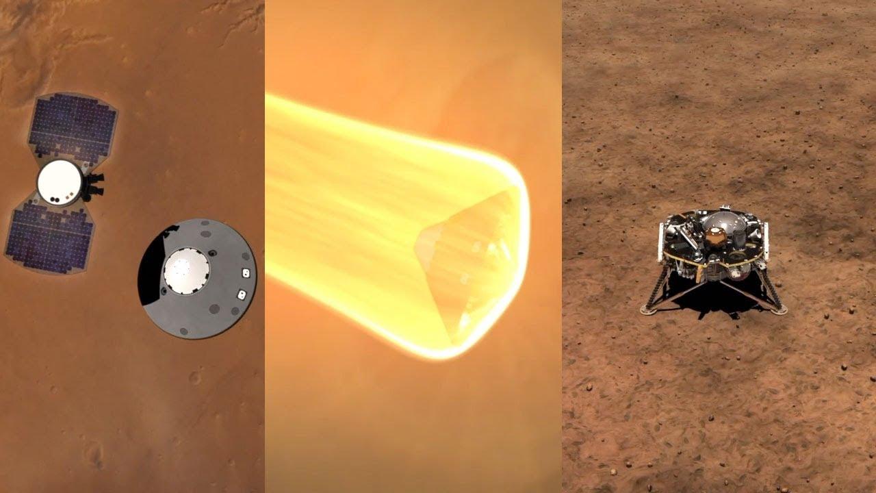 try landing insight on mars - photo #25
