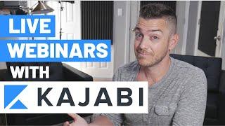 Live Webinars In Kajabi (Step by Step)