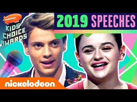 WINNERS & SPEECHES Ft. Jace Norman, Ariana Grande, Chris Pratt, & More! | 2019 Kids' Choice Awards