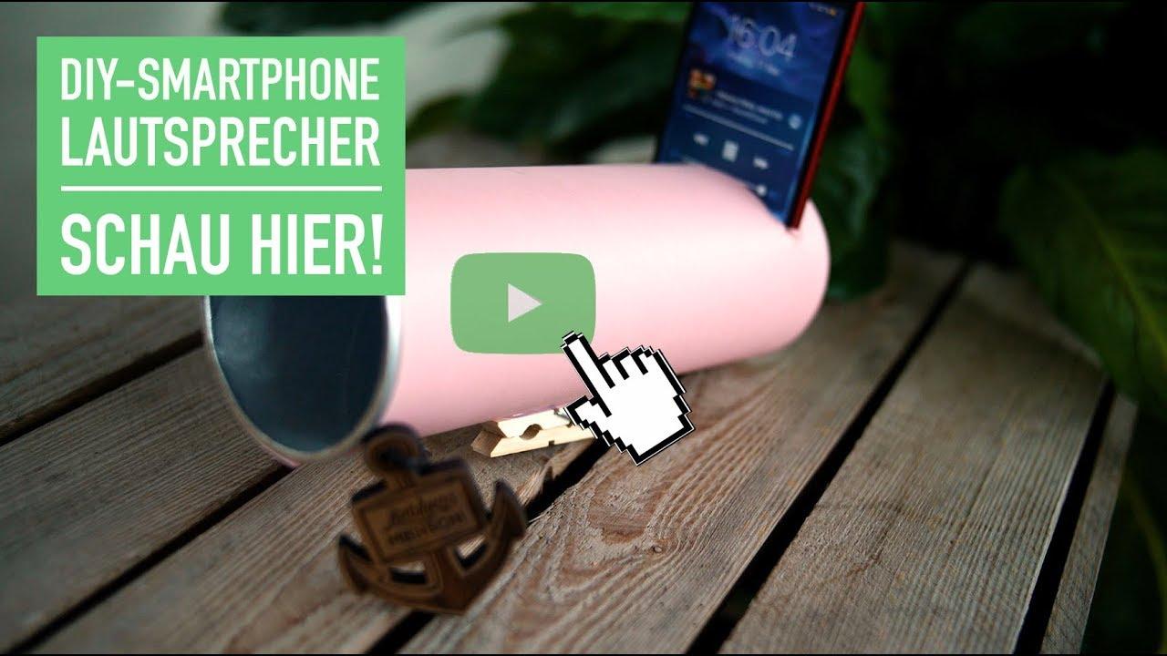 DIY SMARTPHONE LAUTSPRECHER
