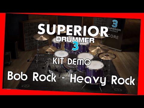 SUPERIOR Drummer 3 - Demo Bob Rock - Heavy Rock - Preset overview TOONTRACK