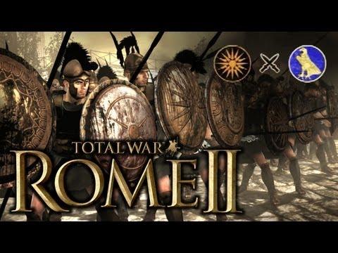 "JUGANDO Rome 2 Total War - ""Macedonia contra Egipto en 4 VS 4"""