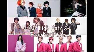 J-POP HIGH NOTE & BEAUTIFUL VOICE