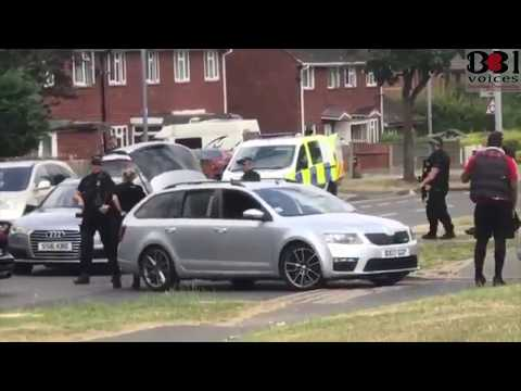 Armed Police Arrests - Bartley Green  / Northfield 9/07/18