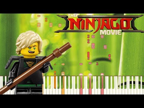 I Found My Place - The LEGO Ninjago Movie [Piano Tutorial] (Synthesia)