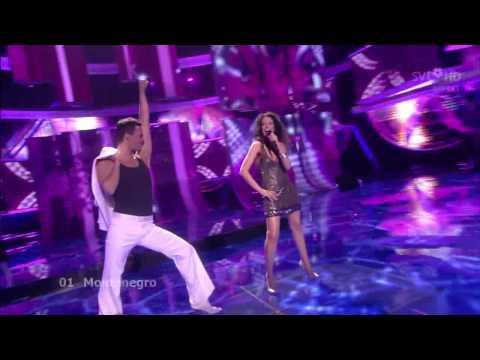 01 - Eurovision Song Contest 2009 - Montenegro - 1ª Semifinal (HD)