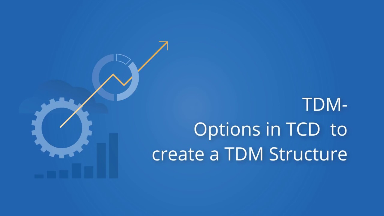 Tricentis Tosca: TCD Options to Create TDM Structure