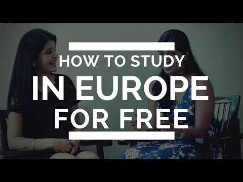How to Study in Europe for Free - Erasmus Mundus Scholarship
