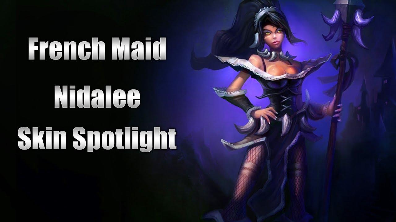 *NEW* French Maid Nidalee Skin - 82.1KB