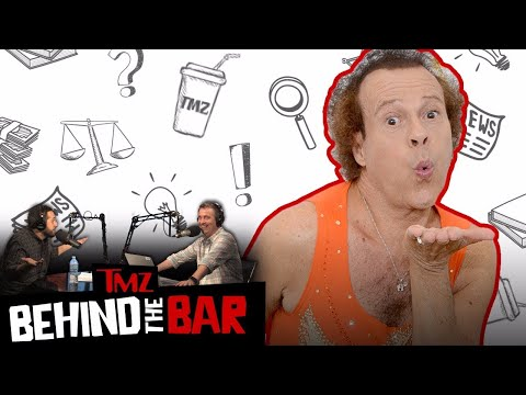 Richard Simmons Vs.The National Enquirer | Behind the Bar | TMZ Live