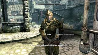 Skyrim Followers ~ Cicero Oils Mother