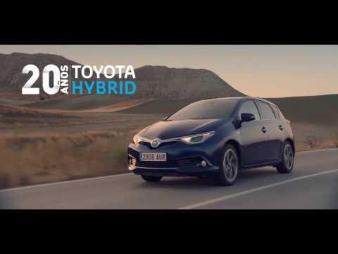 Anuncio Toyota Auris Hybrid 2017