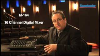 Tascam M-164 Mixer Series Demo - Sweetwater