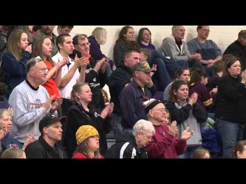 Laporte vs Pine River Backus High School Boys Basketball - Lakeland News Sports - February 19, 2015