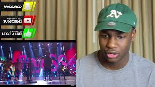 Bruno Mars and Cardi B - Finesse (LIVE From The 60th GRAMMYs ®) l REACTION!!!