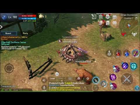Tips Lineage 2 Revolution. Treasure Hunt #1 : Giran Dominion Spot! Banyak Gold Gargoyle!