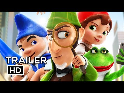 SHERLOCK GNOMES Official Trailer #2 (2018) Johnny Depp, Emily Blunt Animated Movie HD