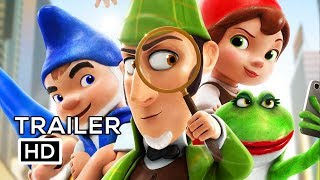 Sherlock Gnomes Official Trailer 2 2018 Johnny Depp Emily Blunt Animated Movie Hd