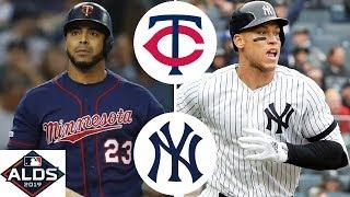 Minnesota Twins vs. New York Yankees Highlights | ALDS Game 1 (2019)