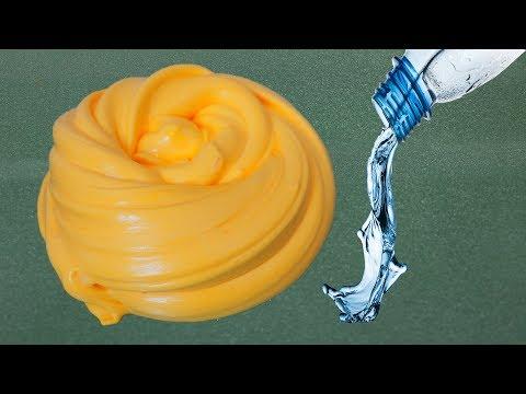 Water Slime #3 💦 No Glue, No Borax 💦 Testing Water Fluffy  Slime Recipes
