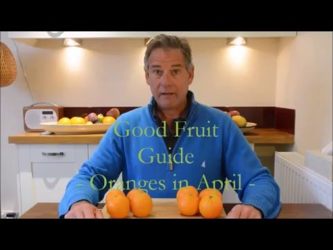 Good Fruit Guide: Oranges in April