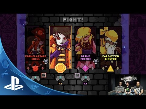 TowerFall Dark World - PlayStation Underground Gameplay Video | PS4
