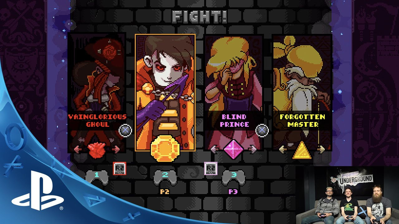 Towerfall dark world playstation underground gameplay for Couch coop ps4