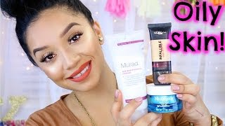 Oily Skin Holy Grail Products! | Skincare and Makeup